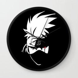 Kakashi Hatake Face - Naruto Wall Clock
