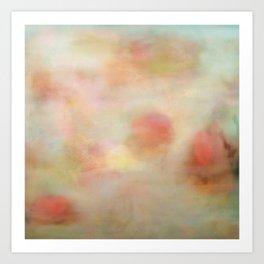Atmosphere in mint Art Print