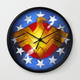 Wonder Shield Wall Clock
