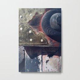 patina Metal Print