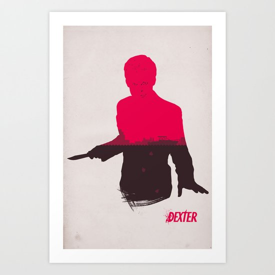 The Dark Passenger Art Print