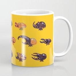 Rhino and Stag Coffee Mug