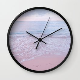 calm day 02 ver.pink Wall Clock