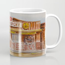 The Broken Spoke - Austin's Legendary Honky-Tonk Watercolor Painting Coffee Mug
