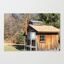 The Old Sugar House Canvas Print
