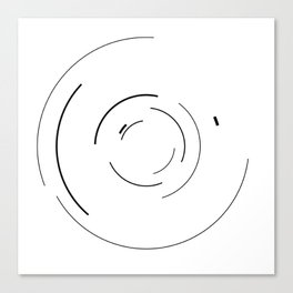 Orbital Mechanics Invert by Diagraf and Ewerx Canvas Print