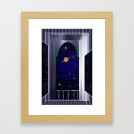 "House on ""Titan"" !  Framed Art Print"