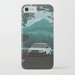 Mountain Pass Drift 01 iPhone Case