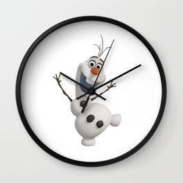 olaf frozen Wall Clock