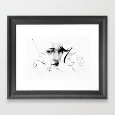 Line 5 Framed Art Print