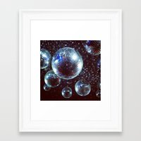 disco Framed Art Prints featuring Disco by Elle