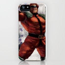 M Bison iPhone Case