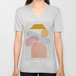 Abstraction_Home_Sweet_Home Unisex V-Neck