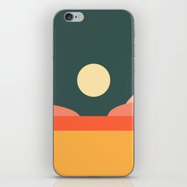 Geometric Landscape 14 iPhone Skin
