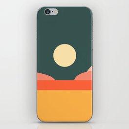 Geometric Landscape 14 iPhone Skin