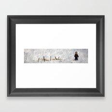 letting go 02 Framed Art Print