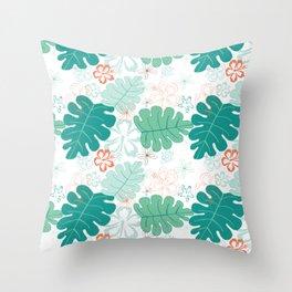 Hawaiian Holidaze Throw Pillow