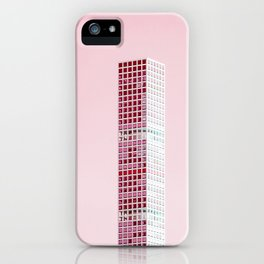 Pink Pillar iPhone Case