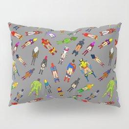 Butt of Superhero Villian - Dark Pillow Sham