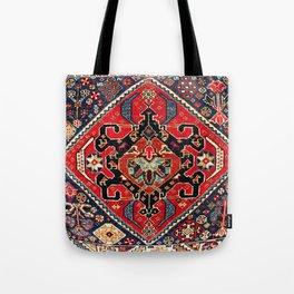 Qashqa'i Antique Fars Persian Bag Face Tote Bag