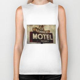 Vintage El Sombrero Motel Sign Biker Tank