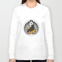 volleyball Long Sleeve T-shirts featuring Karasuno High Volleyball Club by robin
