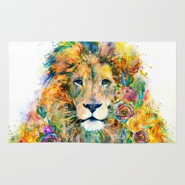 Garden of the Wild ~ LION Rug