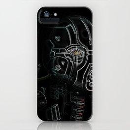 Glitchmask Zone iPhone Case