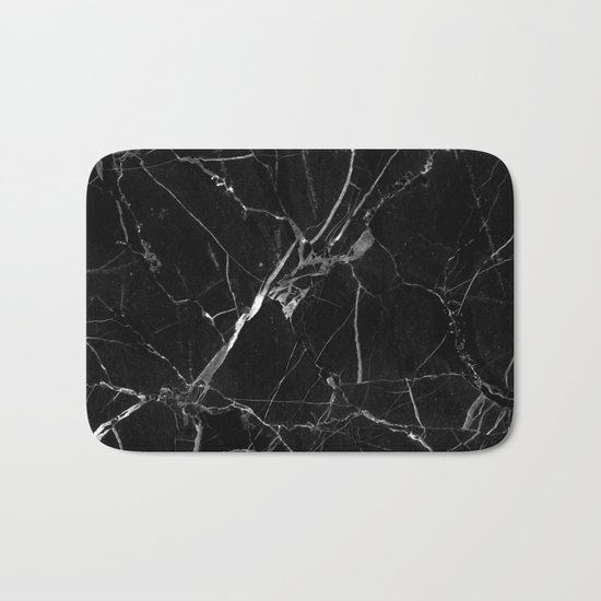Marble texture Bath Mat