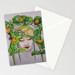 In the Citrus Family Stationery Cards