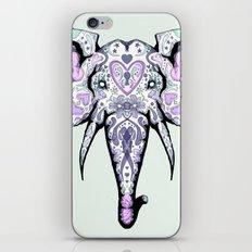 Sugar Skull Elephant iPhone & iPod Skin