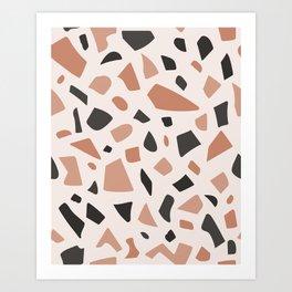 Earth Terrazzo Art Print