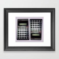 Fuck Math Framed Art Print