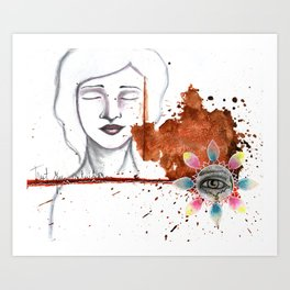 Trust your Intuition Art Print