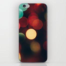 Xmas Lights iPhone Skin