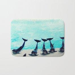 Spectacular Dolphin Show Bath Mat