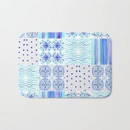 Amalfi Coast Tiles Bath Mat
