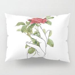 Flower in the Hand Pillow Sham