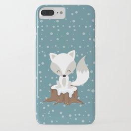 WINTERLAND FOX iPhone Case