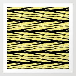 A New Wild - Yellow Art Print