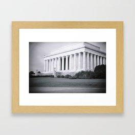 Resolve - Washington, DC Framed Art Print