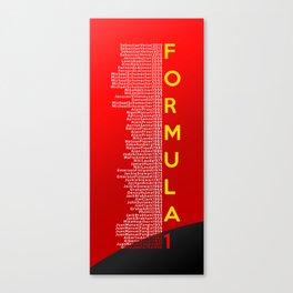 Formula 1 Champions - Scuderia Ferrari 2013 edition Canvas Print