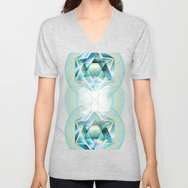 Sacred Circles Unisex V-Neck