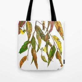 Australian Gum Leaves Tote Bag