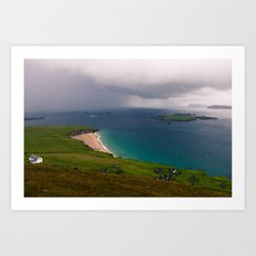 Great Blasket Island Art Print
