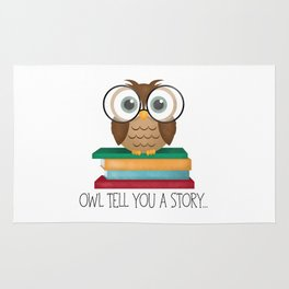 Owl Tell You A Story... Rug
