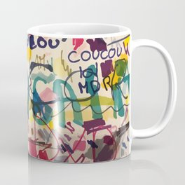 Urban Graffiti Paper Street Art Coffee Mug