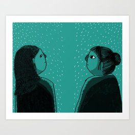 YOU? Art Print