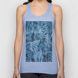 Blue safari Unisex Tank Top