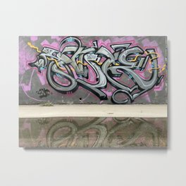 Wildstyle Graffiti Metal Print